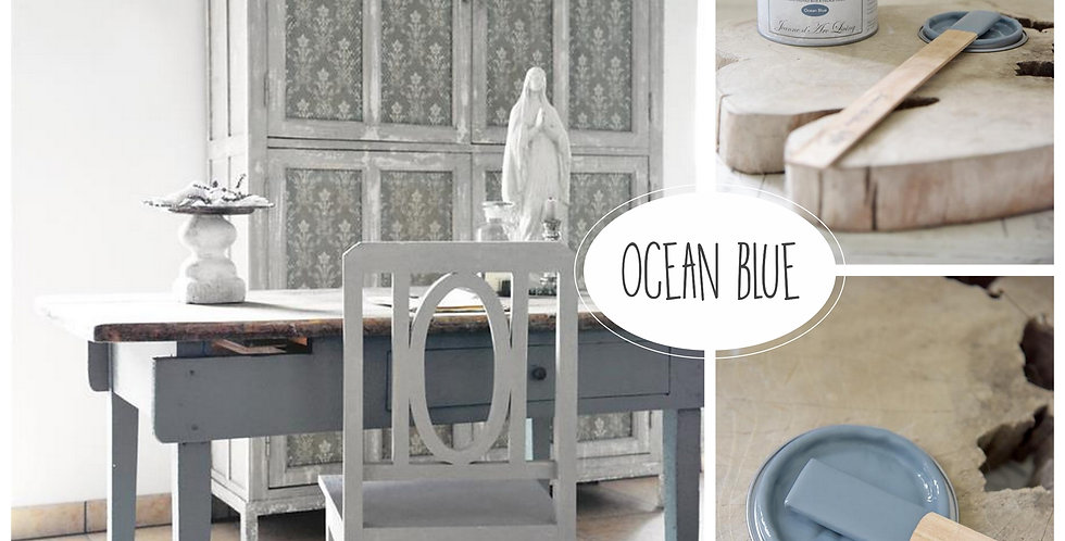 Vintage Paint Ocean Blue