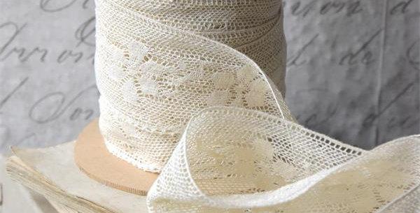 Spitze creame-6cm- lace
