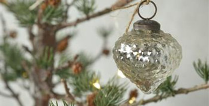 Glänzendes antikes Finish Weihnachtskugeleihnachtskugel m2- Xmas ball