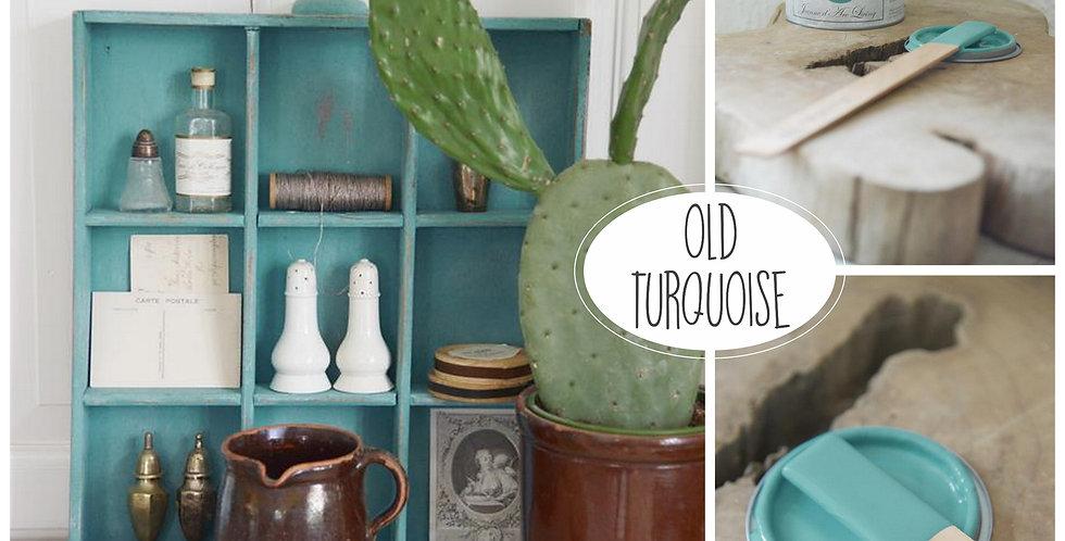 Vintage Paint Old Turquoise