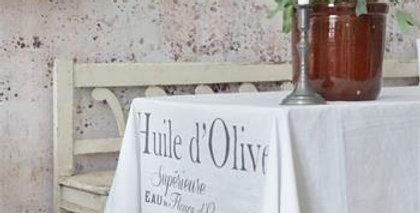 Tischdecke Huile d'Olive - Tablecloth