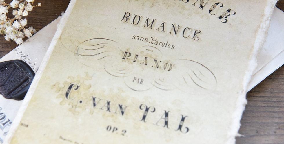 Karte Romance-doppelt - Card double