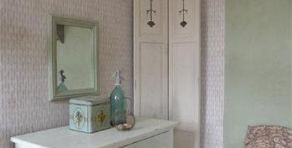 Fensterladen creme Farbe - Shutter cream color