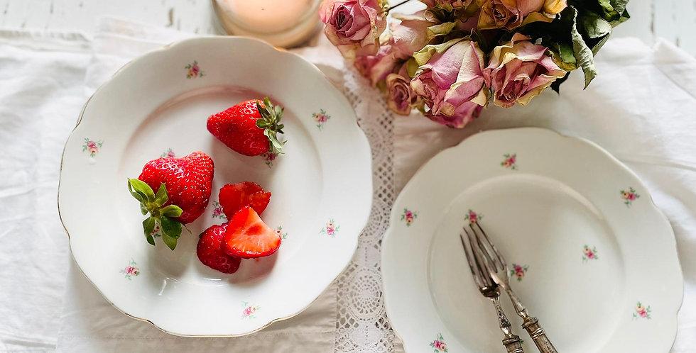 Dessert Teller alt- old dessert plates