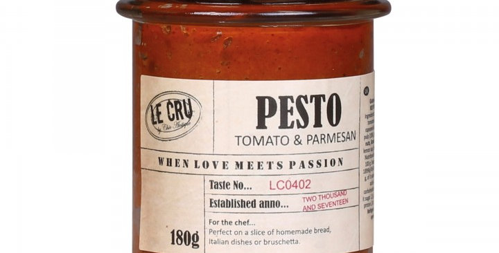 Glutenfreies rotes Pesto - gluten free red pesto