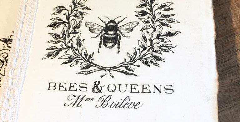 Notizbuch Bees & Queens