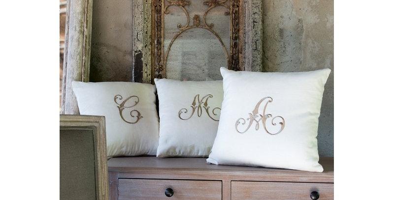 Kissen Buchstabe A - Cushion A