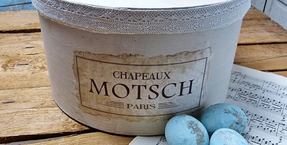 Hut Schachtel Chapeaux Motsch Paris