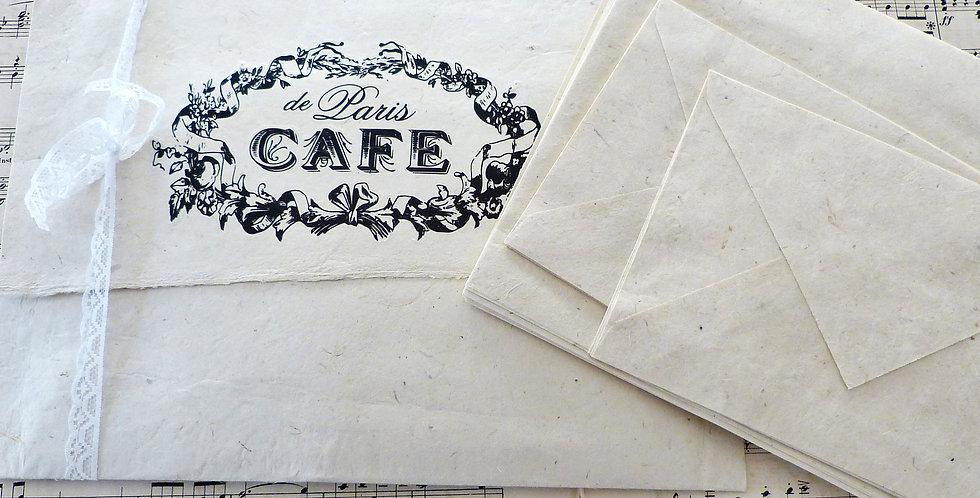 Umschlag mit Briefpapier t2 -Envelop with Stationary