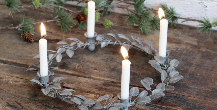 Advent Kerzenhalter - advent candle holder