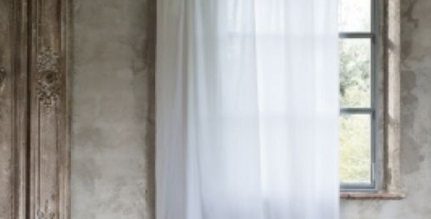Vorhang mit Rüschenboden - curtain