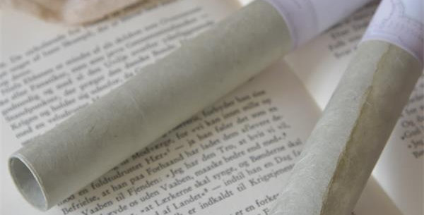 Handgemachtes Papier dusty green. Handmade Paper
