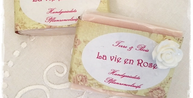 Seife La vie en rose -Soap
