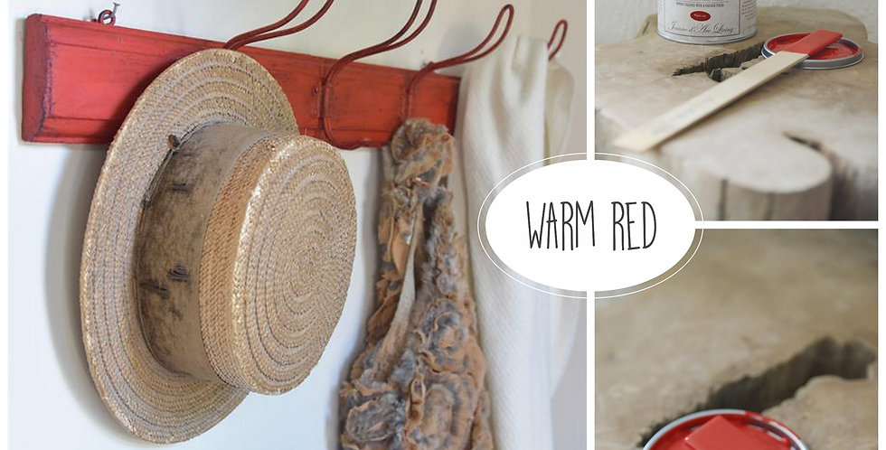 Vintage Paint Warm Red