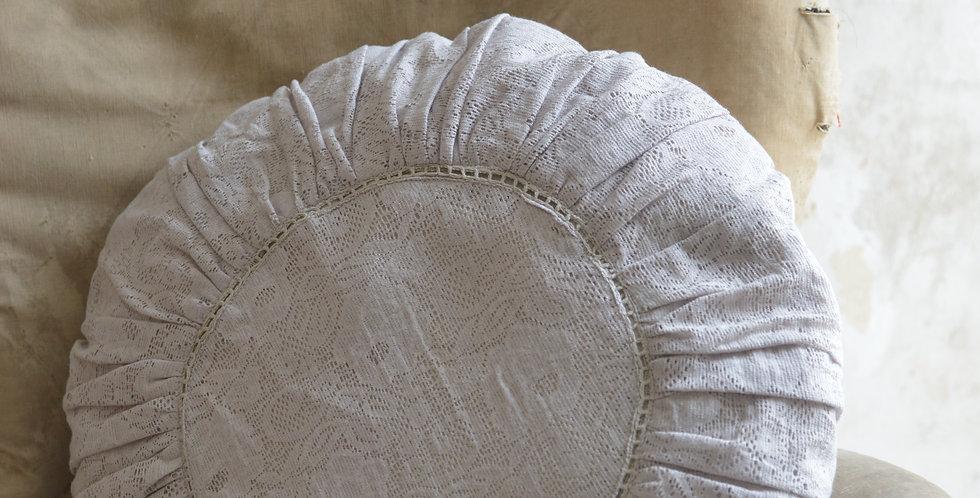 Kissen rund  beige - Round cushionbeige