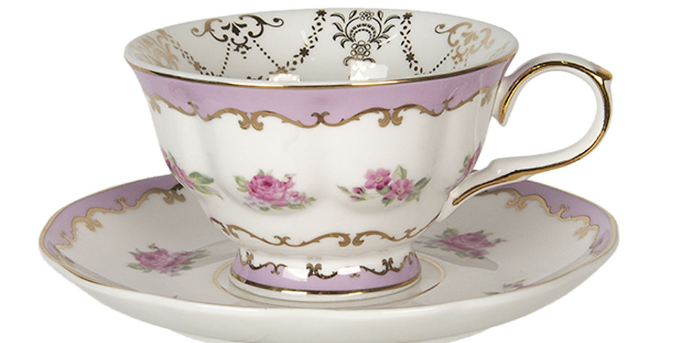 Tasse & Teller Type 3 -Cup and saucer