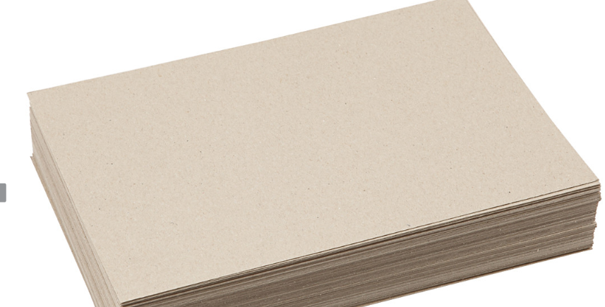 Recycelte Karte Papier - Recycled Card paper