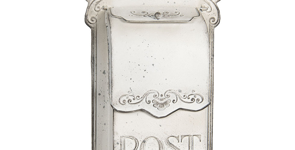 Briefkasten Weiss- mailbox