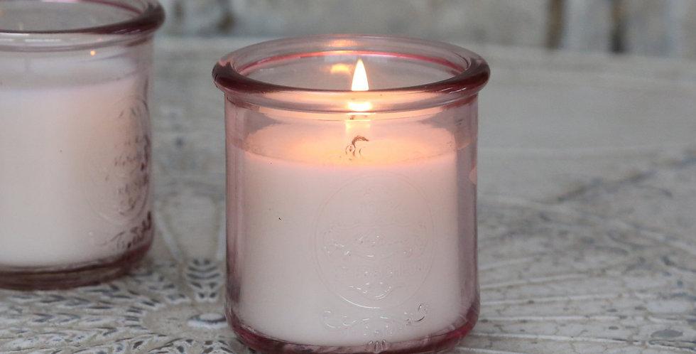 Pfingstrosenglühen Kerze -peony