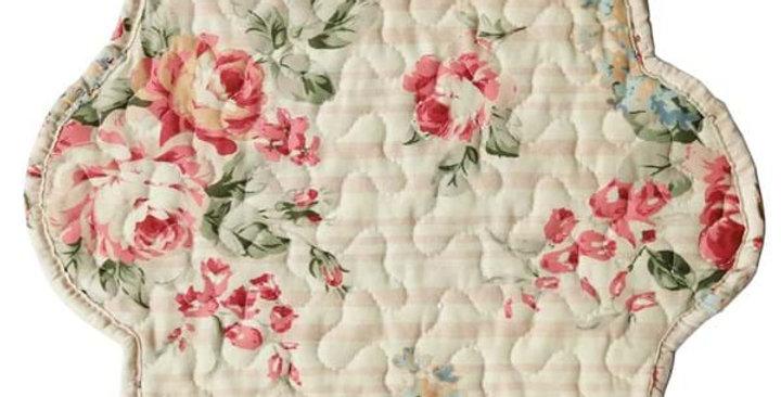 Tischset Blumen/Streifen - table set