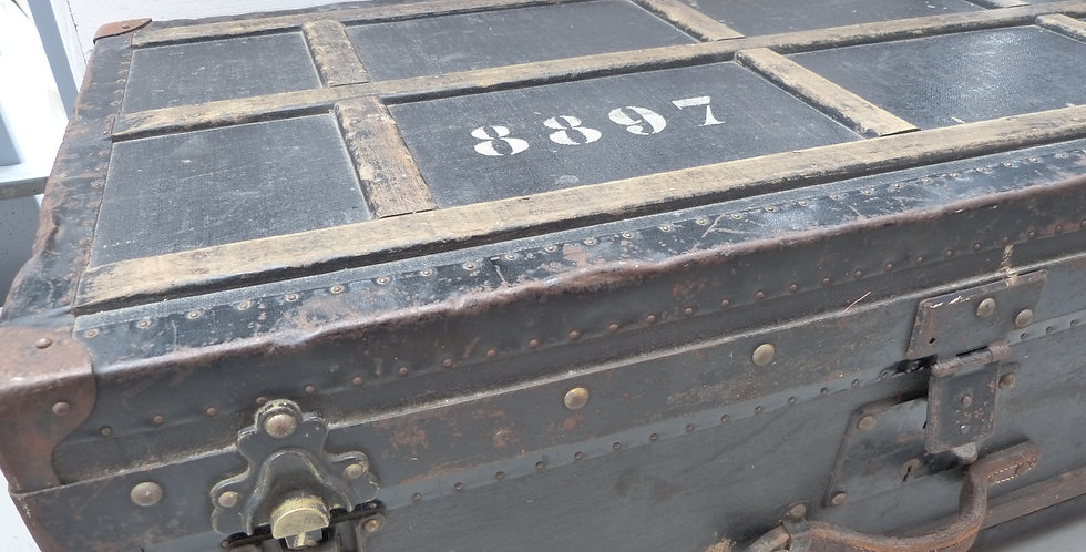 Offizierskiste-Militär Koffer - Military Suitcase