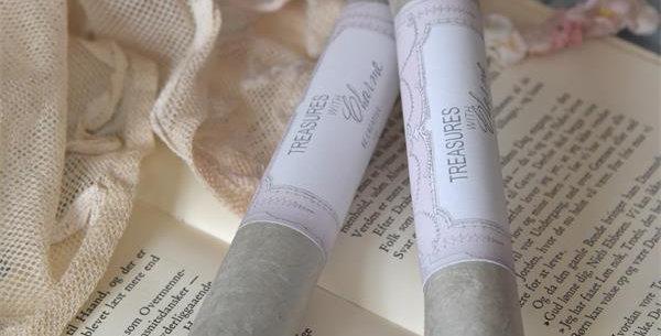 Büttenpapier Rollen Dusty Green - Handmade Paper