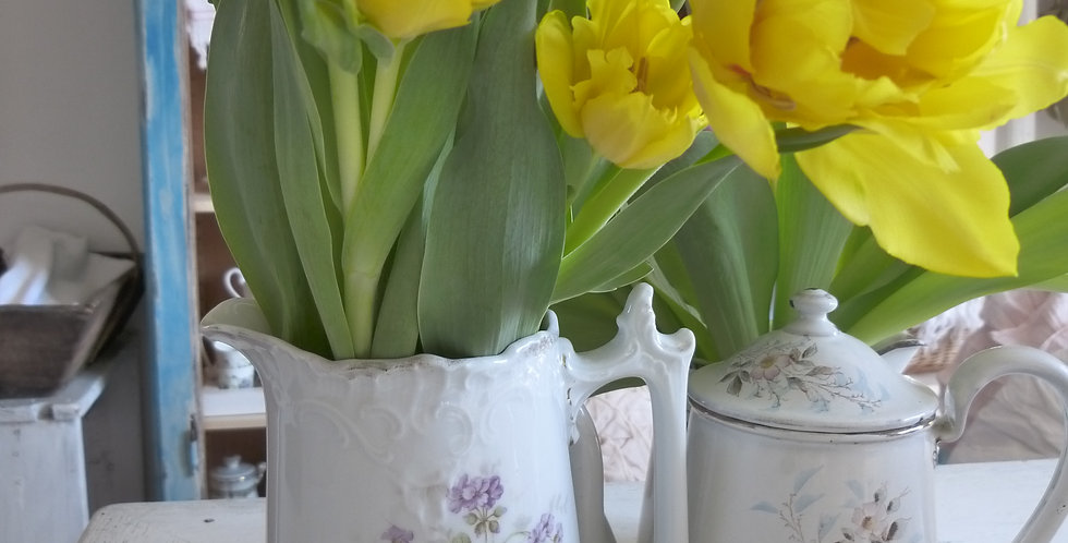 Porzellan Krug - porcelain jug