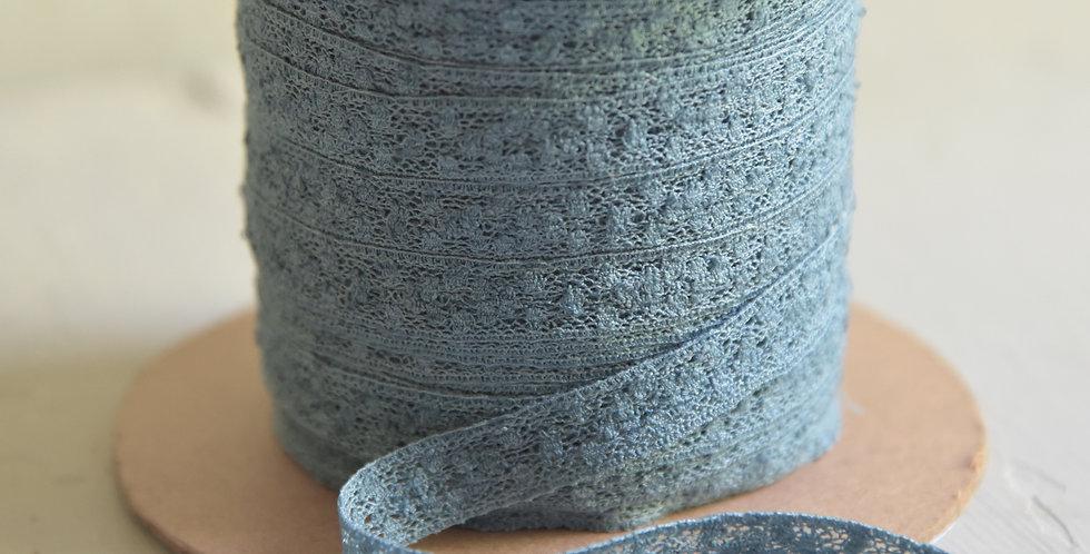 Spitze dusty blue 1,2cm - lace