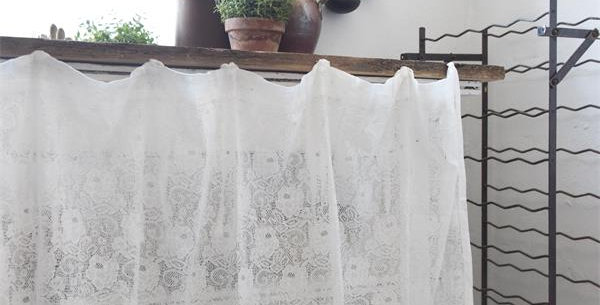 Vorhnag Spitze Kurz- Curtain lace short