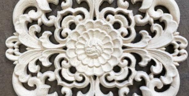 Woodubend -Baroque Centerpiece 2171