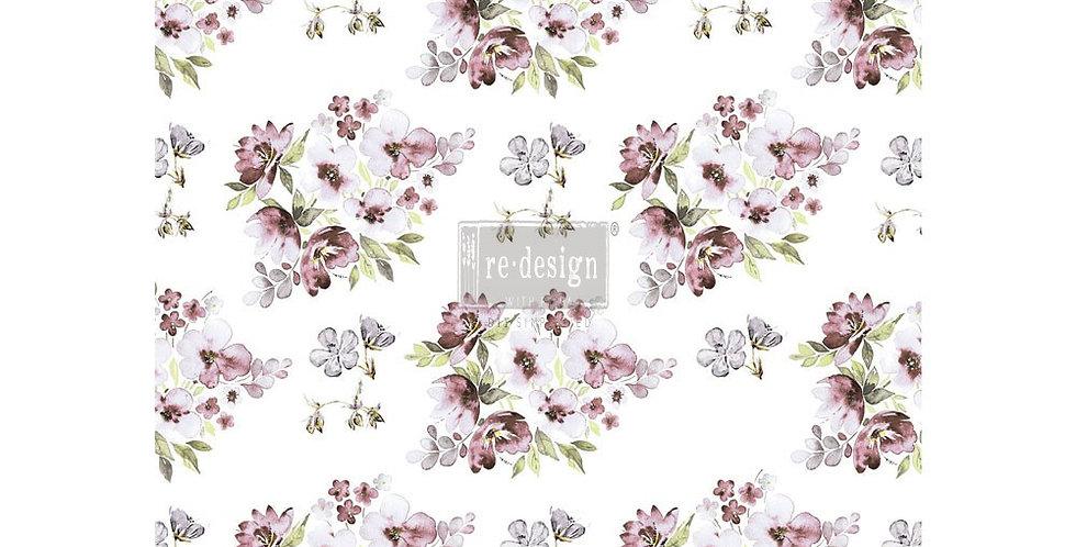 Lavender Decor Transfers -