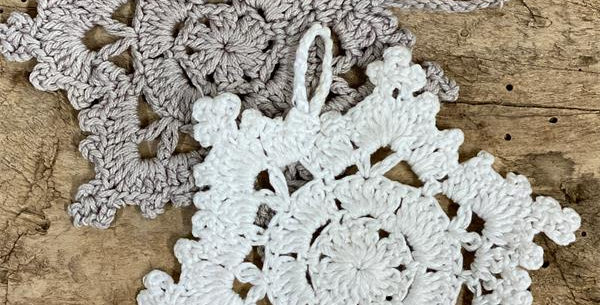 Häkeln Stern-Ornament Crochet Star