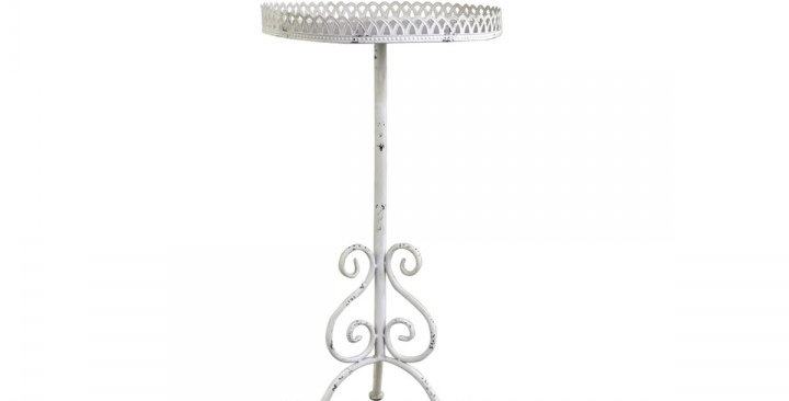 Tisch mit fil de fer - table with fil de fer edge