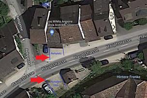 Parkplatz Scheune LMA