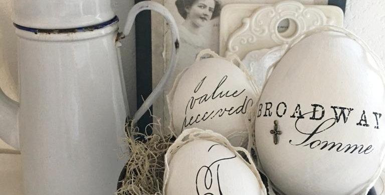 Oster Eier Set Broadway . Easter eggs