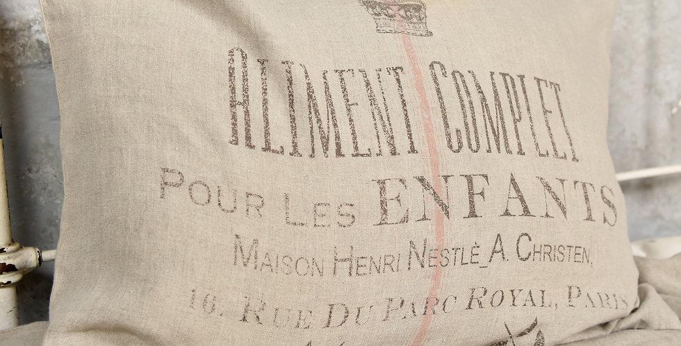 Kissen Aliment -rosa Streife -cushion