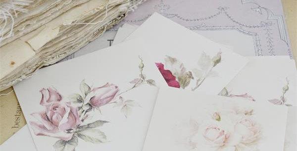 Rosenmotive - Rose motif