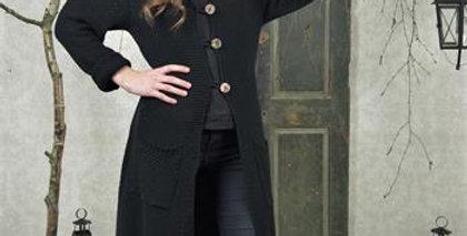 Strickjacke schwarz . cardigan black