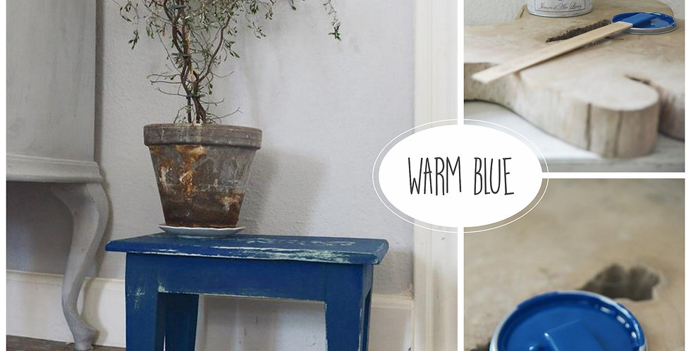 Vintage Paint Warm Blue