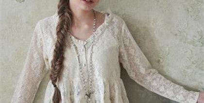 Bluse Sensible Spirit Cream - Blouse