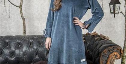 Kleid Delicate dreams petrol blau - Dress petrol blue