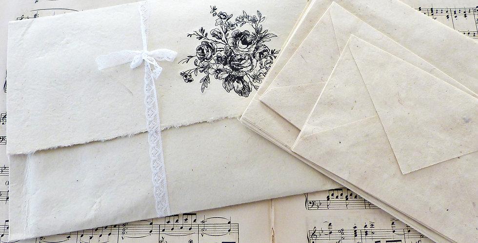 Umschlag mit Briefpapier t3 -Envelop with Stationary