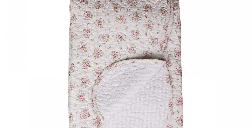 Quilt Rosen & Streifen ca- Quilt roses and stripes
