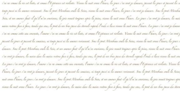 Decoupage Papier Script-A3 Chalk