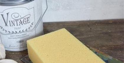 Schwamm für Ziegelwände - Sponge for Brick