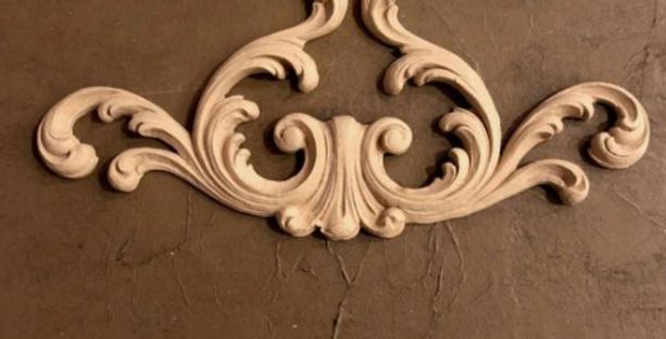 Woodubend -Decorative Plume 1418