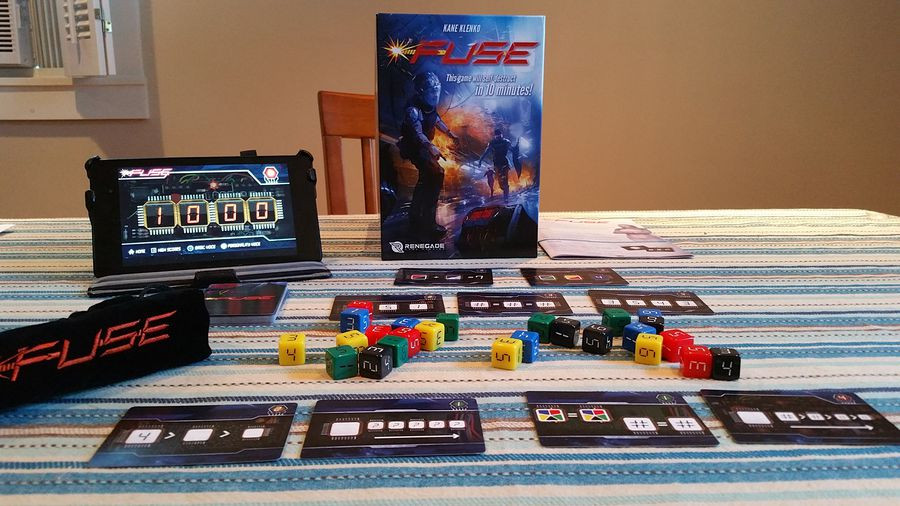 Set up of real-time board games Fuse