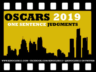 One Sentence Judgments: Oscar Edition 2019