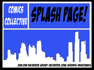 Comics Collective Splash Page!