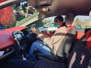 Covid Measures at RIMS Driving School.